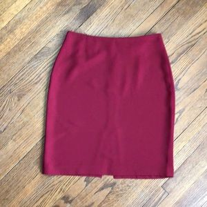 🌳 Red Mini Skirt The Limited